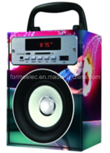 Wood Portable Speaker with USB SD FM Bg38 pictures & photos