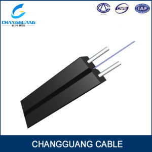 High Quality Indoor Butterfly Type FTTH Drop Cable GJXFH/Gjxh pictures & photos