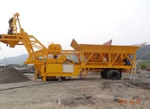 Yhzs 50 Mobile Concrete Batching Plant (50m3/h) pictures & photos