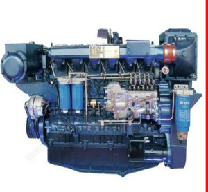 Low-Noise! Weichai R6160zc326-5 Marine Engine for Sale pictures & photos