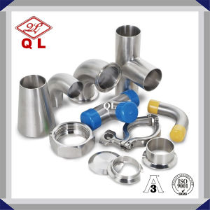 Sanitary Stain Steel Clamp Fitting pictures & photos
