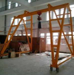 Crane Hoist with Frame pictures & photos