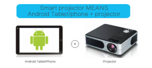 Portable Mini Smart Android Projector with WiFi pictures & photos