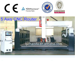 5 Axis CNC Machining Center CNC Router Machine pictures & photos