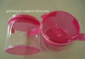 Soft Plastic PVC Bags (cylinder packaging) pictures & photos