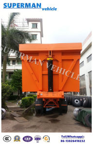 25-28cbm Tri Axle Sand/ Coal Transport Tipping Tipper Dump Trailer pictures & photos