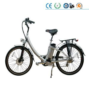 "26"" 36V 250W Lady Electric Bicycle En15194 (LD-E006) pictures & photos"