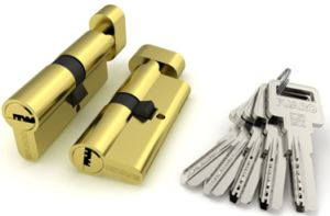 Brass Cylinder Lock, Unilateral Open Cylinder Lock Al-60-70-80-90 pictures & photos