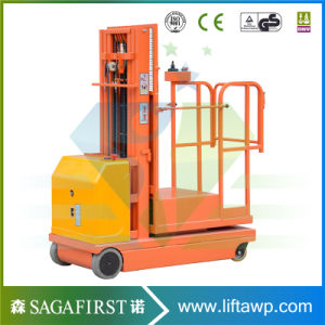 4.5m Hydraulic Lift Vertical Welding Lift Platform Orderpickers Working Platform pictures & photos