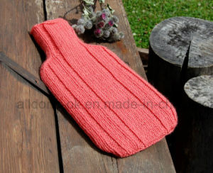Hand Knit Hot Water Bottle Cover Cosy Case Bag pictures & photos
