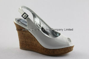 Wedge Design High Heel Lady Sexy Shoes pictures & photos