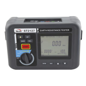 Auto Range Electric Earth Resistance Meter with Automatic Compensation Function