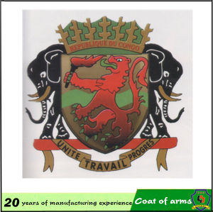 Chinese Factory Custom Congo National Emblem pictures & photos