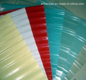 Shanghai Supplier Colorful Translucent PVC Roof Tile with Cost Price pictures & photos