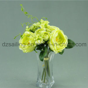 Big Decorative Royal Rose Bouquet Artificial Flower (SF12508)