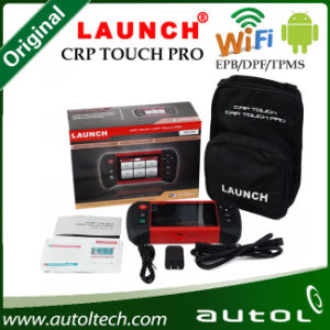 Newest! Launch Crp Touch PRO Code Scanner for Electronic Parking Brake & Steering Angle & Oil Lights &DPF & TPMS Runs on Android pictures & photos