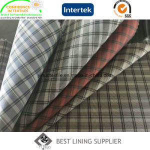 Plaid Patterned Men′s Suit Jacket Liner Lining Fabric China Supplier pictures & photos