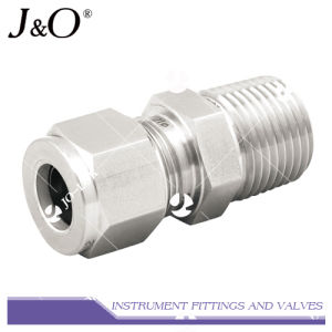 316 Stainless Steel Straight Male Connector Pipe Fitting pictures & photos