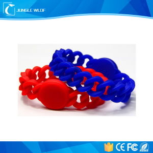 2016 Newest 100% Eco-Friendly Silicone RFID Wristband Bracelet pictures & photos