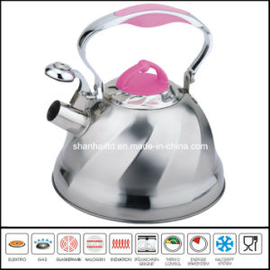 High Quality Color Whistle Kettle Cookware pictures & photos