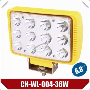 "6.8"" 36W PMMA Lens IP67 LED Work Light (CH-WL-004-36W)"