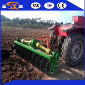 Double Side Gearbox Rotary Disc Harrow for Paddy Field pictures & photos