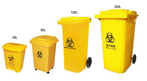 Medical Plastic Waste Container pictures & photos