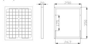 Customized Small Power 10W Monocrystalline Solar Module pictures & photos