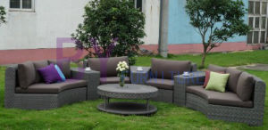 by-459 Hot Sale Fashion Garden Outdoor Wicker Rattan Sofa Set pictures & photos