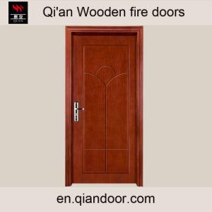 Polished Wooden Door Burnished Fir Wooden MDF Door pictures & photos