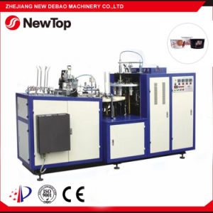 Paper Bowl Forming Machine for Double PE Paper Bowl (DEBAO-2B80) pictures & photos