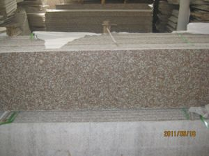 Polished G687 Peach Red Granite Slab for Countertops pictures & photos