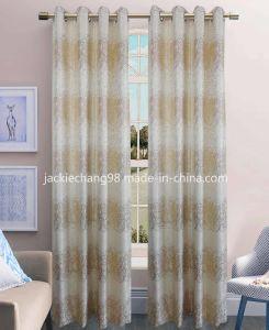 Jacquard Grommet Panel Window Curtain pictures & photos