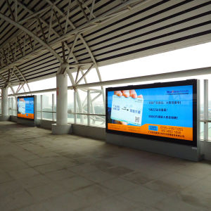 Outdoor Subway Horizontal Advertising LED Light Box pictures & photos