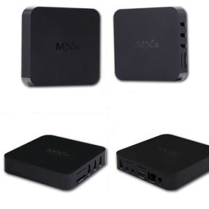 Mxq Kodi 16.0 Fully Loaded Amlogic S805 Quad Core 1GB 8GB Android Smart TV Box pictures & photos