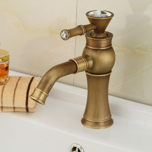 New Bronze Bathroom Washbasin Wash Faucet (6007) pictures & photos