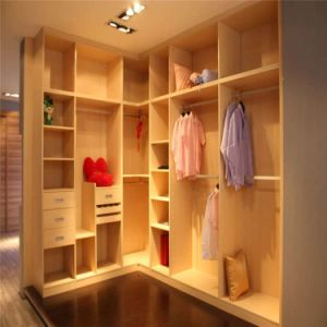 Customized Walk in Closet Without Door