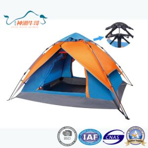 Double Layers Windproof Waterproof Automatic Camping Tents Outdoor