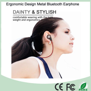 Popular CSR 4.1 Wireless Fitness Bluetooth Headset Headphone (BT-128Q) pictures & photos