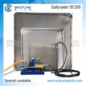 Block Pushing Steel Water Bag pictures & photos