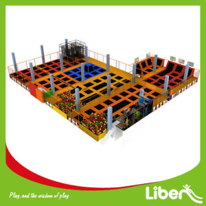 Liben Manufacturer Adults Used Indoor Commercial Trampoline Park for Sale pictures & photos