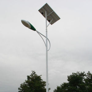 24W Outdoor LED Solar Street Light with CE, RoHS Approved pictures & photos