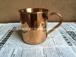 2015 New Hot Copper Plating Stainless Steel Copper Cup Shot Glass, Pint Copper Coffee Cup, Vodka Shot Glass with Copper Plating pictures & photos