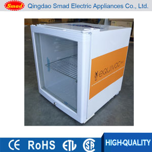 Counter Top Glass Door Display Mini Refrigerator pictures & photos