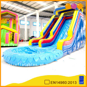 Aoqi Design Giant Inflatable Water Slide Amusement Park Toy (AQ1061) pictures & photos