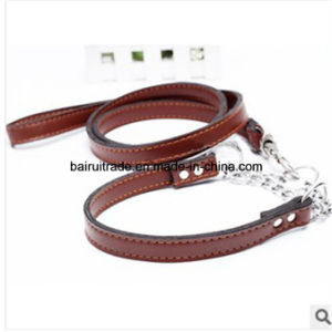 2016 High Quality Leather Rope Collar and Leash pictures & photos