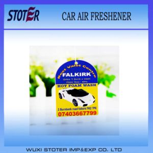 Advertising Promotional Logo Printed Paper Car Air Freshener pictures & photos