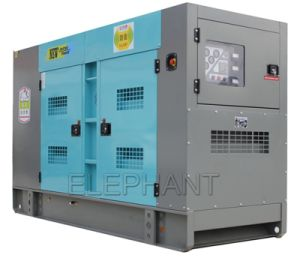 100kVA Cummins Soundproof Diesel Generator pictures & photos