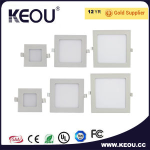Ce RoHS Approved Saqure Recessed LED Panel Light pictures & photos