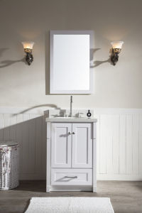 """25"""" Single Sink Vanity Set in White / Wooden Bathroom Vanities pictures & photos"""